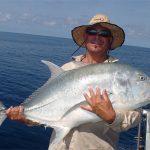 Man with bigger fish